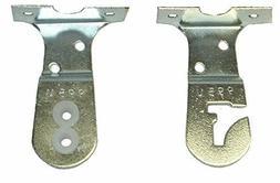 """1 pair 3/16"""" LARGE PIN Metal Roller Shade UNIVERSAL BRACKETS"""