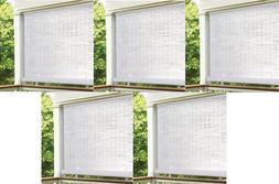 """ea Lewis Hyman 3320156 60"""" W x 72"""" L Cordless White PVC Rol"""