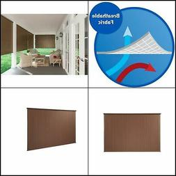 8 Ft Window Sun Shade Blind Roller Roll Up Exterior Cordless
