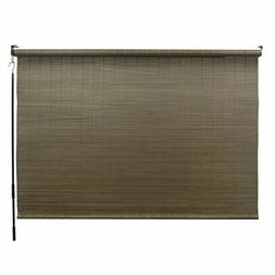 Bamboo Roll Up Shades Outdoor Patio Window Blinds Crank Oper
