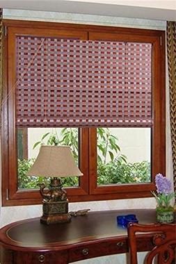 Natural Bamboo Roll Up Window Blind Sun Shade WB-G16