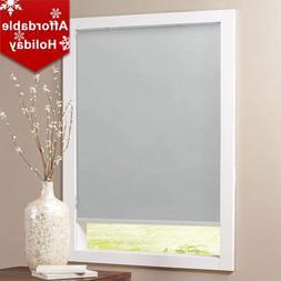 Keego Blackout Bathroom Roller Window Shades, Custom Made Oi