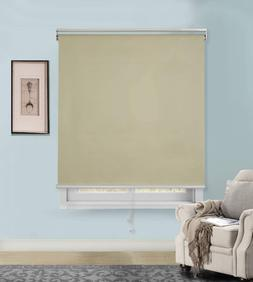Rama Rose Blackout Roller Blind Thermal Insulated Cordless W