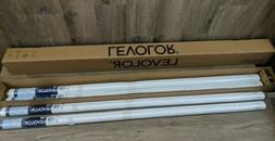 "Box of 4 Levolor Roller Shade Blackout White 55 1/4""W  x 7"