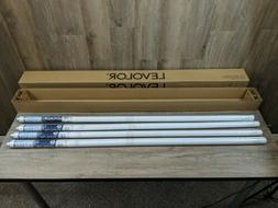 """Box of 4 Levolor Roller Shade White - 55 1/4""""W  x 66""""L"""