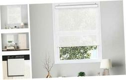 CHICOLOGY Cordless Roller Shades Snap-N'-Glide Sun Filtering