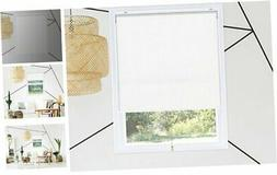 Chicology Cordless Roller Shades Snap-N'-Glide, Blackout Win