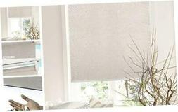 Chicology Cordless Roller Shades Snap-N'-Glide, Privacy & Na