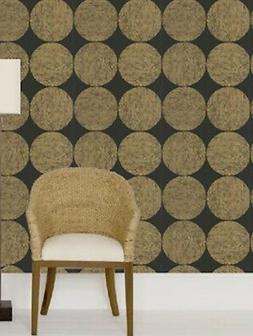 cole and sons wallpaper black gold luna