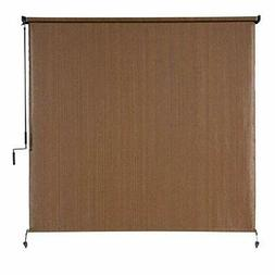 Coolaroo Exterior Roller Shade, Cordless Roller Shade with 9