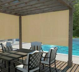 Coolaroo Cordless Outdoor Fade Resistant Fabric Exterior Rol