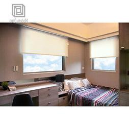 Cordless Roller Window Shades Motorized-Remote Roller Blinds