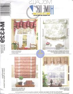 Curtain Panels Draw Shades Roll Cafe Curtains Sewing Pattern