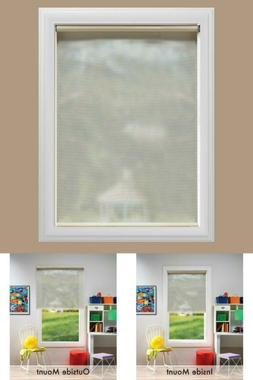 Cut-To-Size Cordless Uv Blocking Fade Resistant Roller Shade
