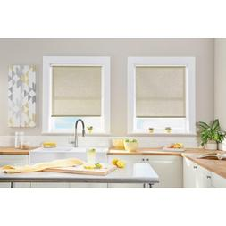 Cut-To-Size Linen Cordless Light Filtering Roller Shades 39