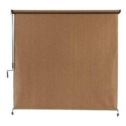 Coolaroo Exterior Roller Shade 120 in. W x 96 in. L Fade Res