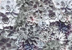 Giant Wall mural photo Wallpaper 368x254cm Shades Floral des