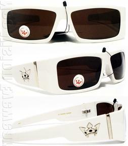 Triple Crown High Roller White OG LOC Style Sunglasses Super