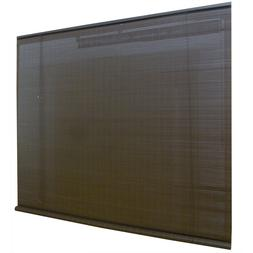 Style Selections Indoor/Outdoor Roll-Up Shade In Chestnut -