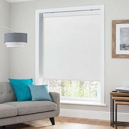 Keego Blackout Shades- Roller Shades for Windows Sheer Dual