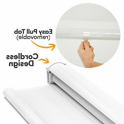 """Cordless Shades Sheer or Privacy - 72""""W x 72""""H"""
