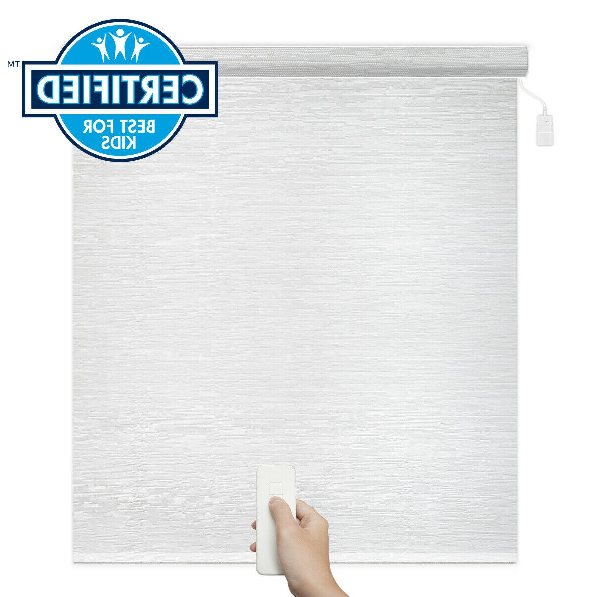godear blackout remote control motorized roller shade