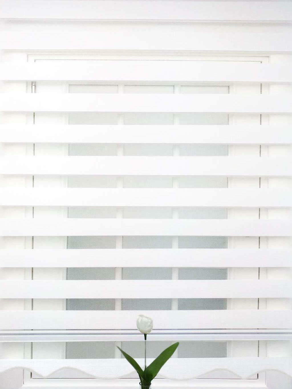horizontal window shade curtains dual roller zebra