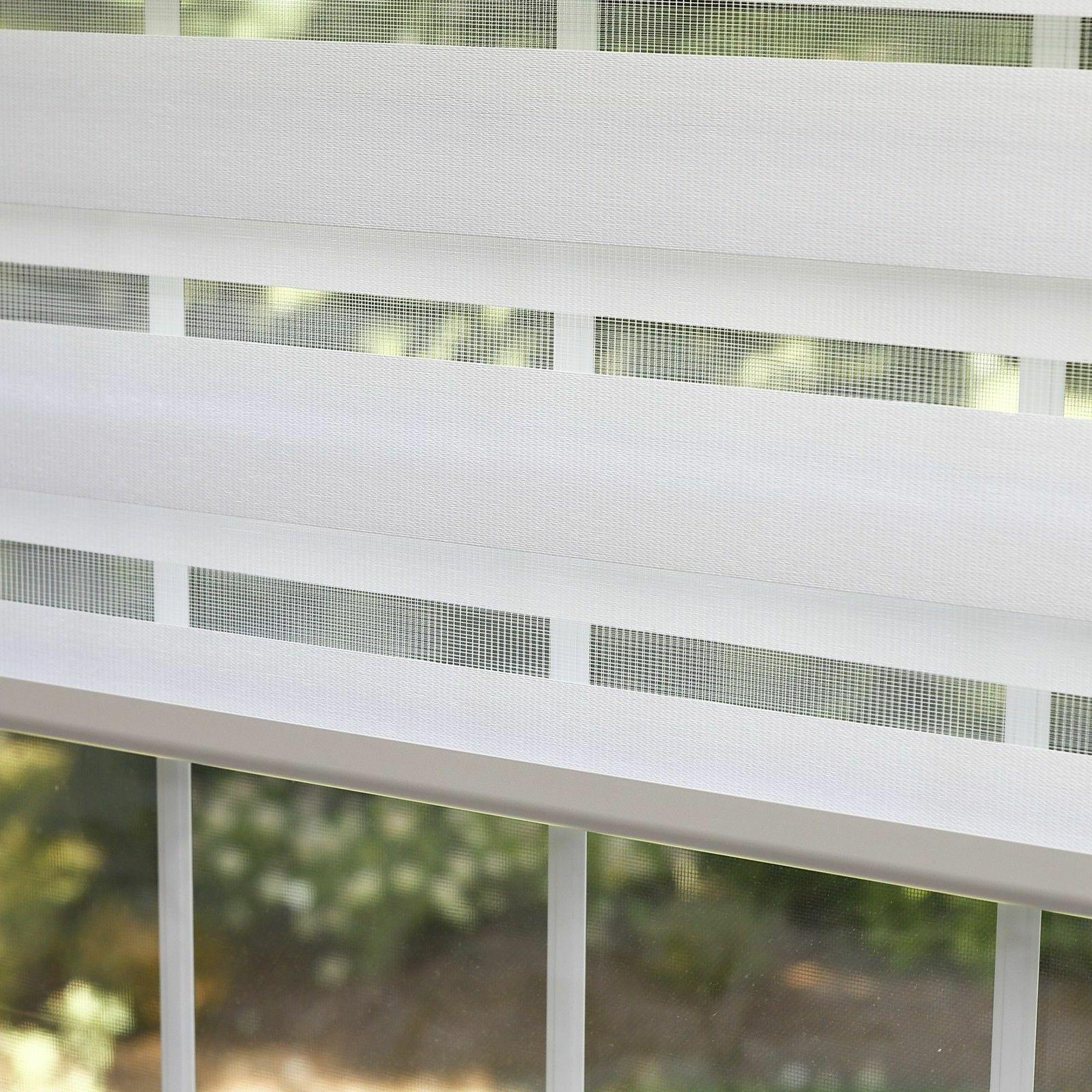 premium duo wood look roller window shade