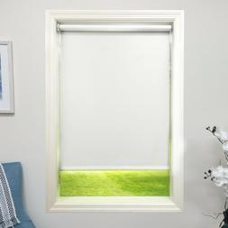 Linen color Roller Shade Vinyl Blackout Blind  Home Window C