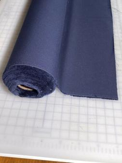 SUNBRELLA Marine / Shade Fabric 6026-0000 Navy Genuine 22 YA