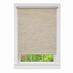 Achim Natural Cordless Fabric Privacy Roller Shade - 58 in.