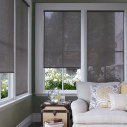 "NEW Ikea ENJE fabric window blind shade 23""W X 64""L semi she"
