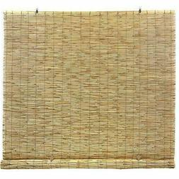 Radiance Reed Bamboo 72 in x 72 in Manual Cord Free Reed Rol