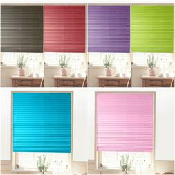 Roller Half Blackout Sunscreen Pleated Window Blind Curtains