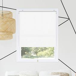 Chicology Snap-N'-Glide Cordless Roller Shades Smooth Room D