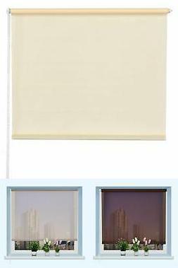 Window Blackout Curtain 43 x 60 Inch Sunscreen Sun Shade Sem