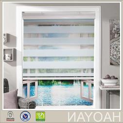 Window curtain zebra roller blinds for kitchen living room o