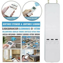 Window WIFI Motorized Roller Shade Blind Remote Control +Val