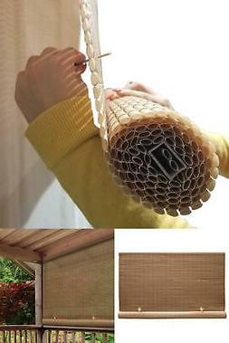 Woodgrain Cordless Light Filtering UV Protection PVC Manual